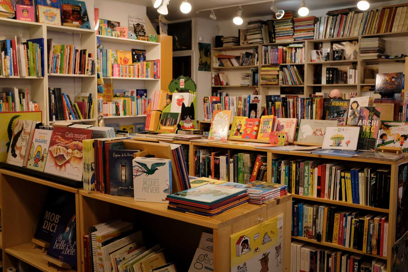 The children's section of bookstore