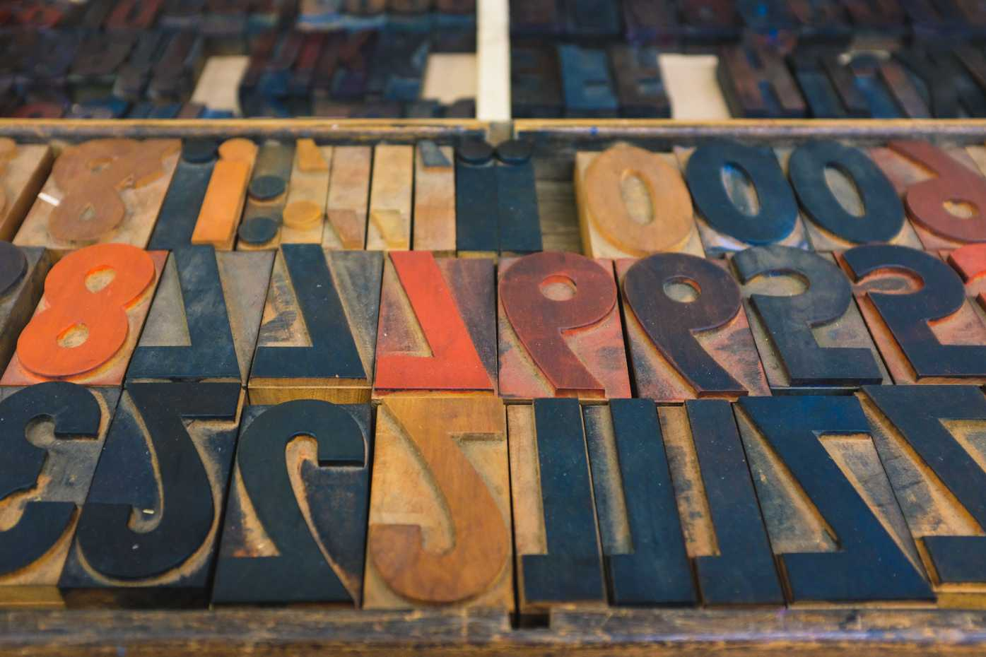 Wood type in the KABK collection