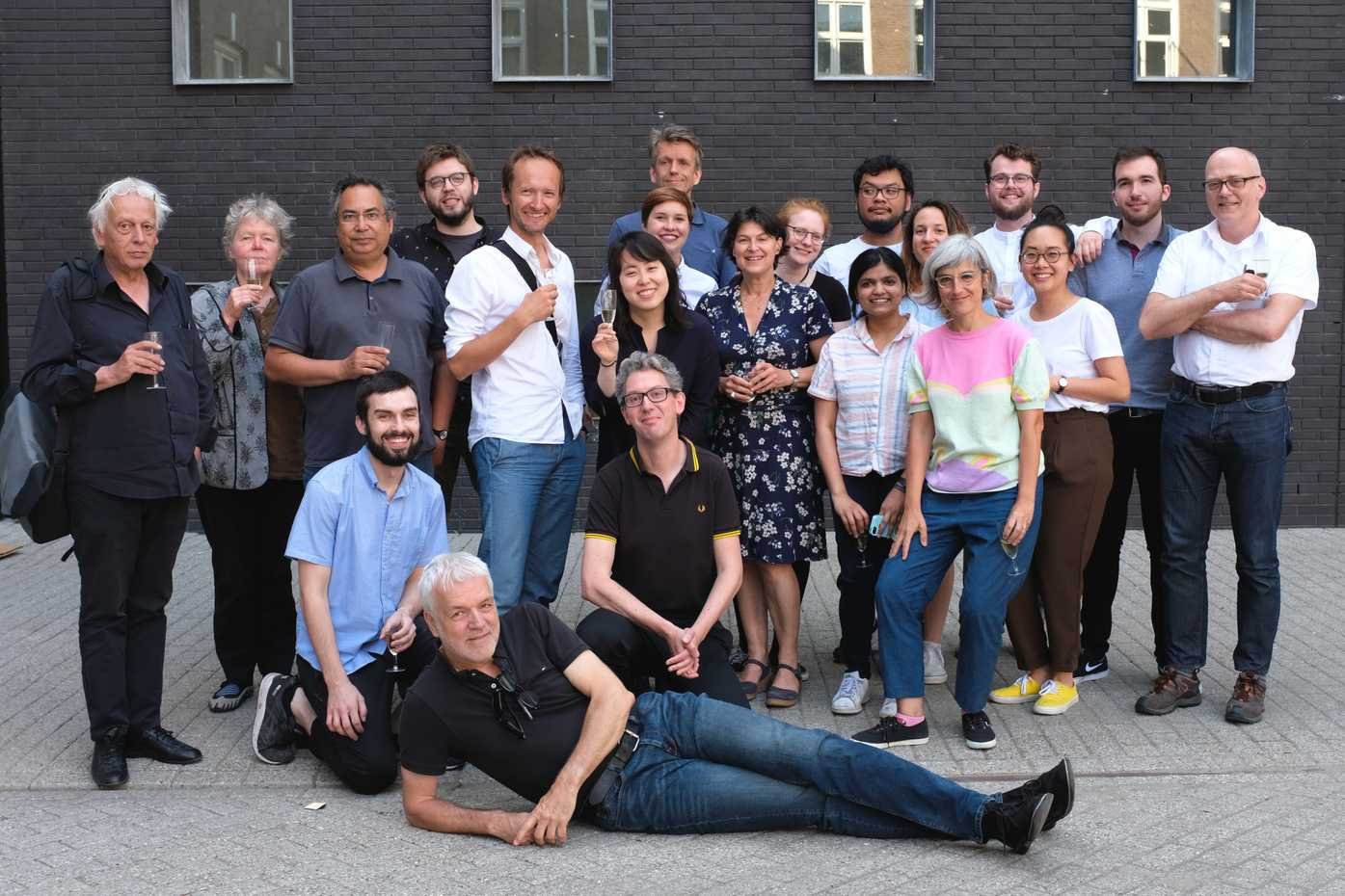 The graduating class of TypeMedia 2018 along with many of the TypeMedia teachers